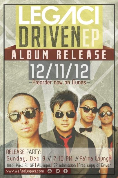 Legaci Driven EP Flyer
