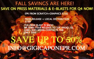 FALL SAVINGS FLYER