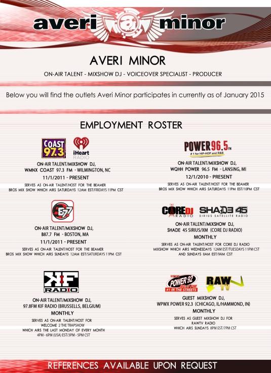 am mixshow resume