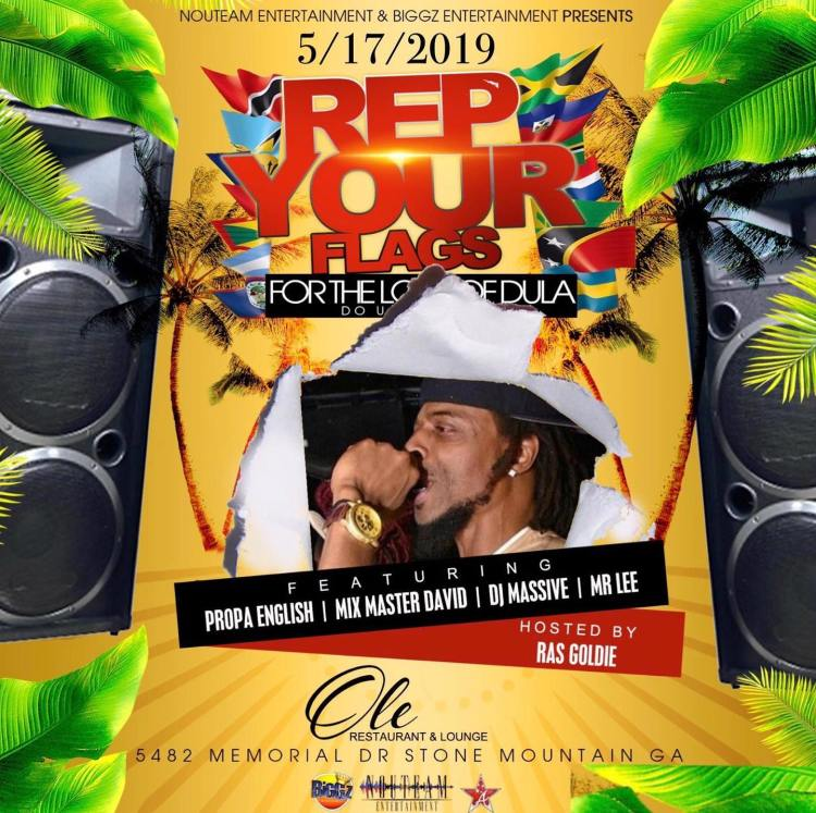 ras goldie flyer for dula